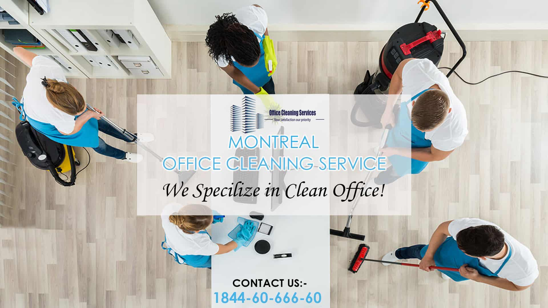 Commercial Office Cleaning Services Montreal - Menage Total