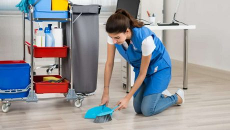 Office Floor Cleaning and Mopping Longueuil